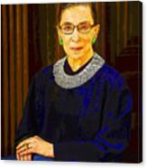Justice Ginsburg Canvas Print