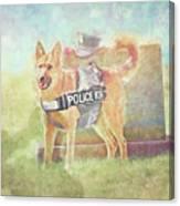 K9 Canvas Print