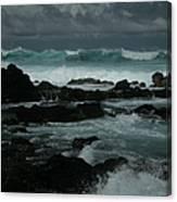 Ka Makani Kaiili Aloha Hookipa Maui Hawaii  Canvas Print