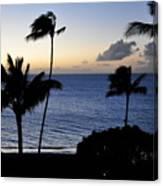 Ka'anapali Beach Maui Canvas Print