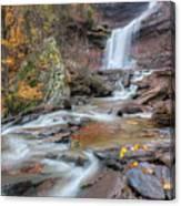 Kaaterskill Falls Autumn Portrait Canvas Print