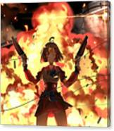 Kabaneri Of The Iron Fortress Canvas Print
