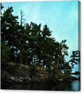 Kabetogama Shoreline Canvas Print