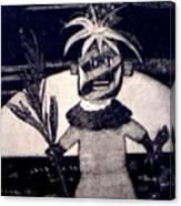 Kachina Goes Hawaiian Canvas Print