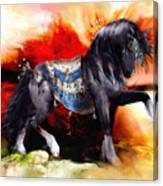 Kachina Hopi Spirit Horse  Canvas Print