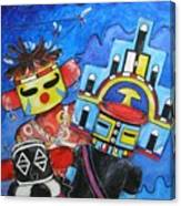 Kachina Knights Canvas Print
