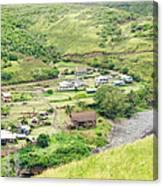 Kahakuloa Village Maui Hawaii Canvas Print