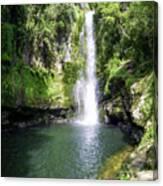 Kaiate Falls Canvas Print