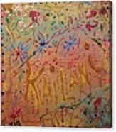 Kailani's Sweet Sixteen Canvas Print