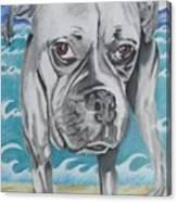 Kailey At The Beach Canvas Print