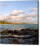 Kailua Bay Sunrise Canvas Print