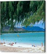 Kailua Beach Park Canvas Print