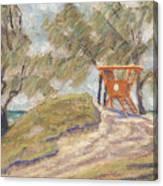 Kailua Tower 8 Canvas Print