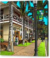 Kailua Village - Kona Hawaii Canvas Print