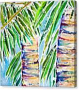 Kaimana Beach Canvas Print