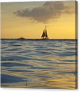 Kaimana Golden Sunset Canvas Print