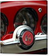 Kaiser Steering Wheel Canvas Print