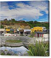 Kaitoura Nz Panorama Canvas Print