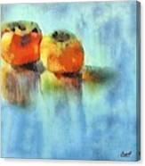 Kaki Couple Canvas Print