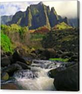 Kalalau Cathedral Canvas Print