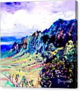 Kalalau Valley 4 Canvas Print