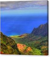 Kalalau Valley Canvas Print