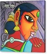 Kalavathi Canvas Print