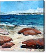 Kalbarri  Beach Canvas Print