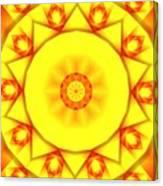 Kaleidoscope 100 Canvas Print