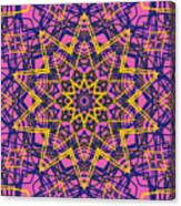 Kaleidoscope 1004 Canvas Print
