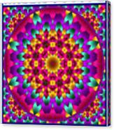 Kaleidoscope 3 Canvas Print
