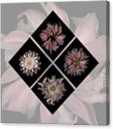 Kaleidoscope Diamond Canvas Print