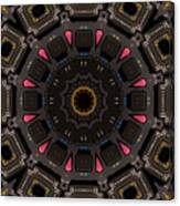 Kaleidoscopic Calculator Canvas Print