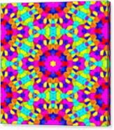 Kaleidoscopic Mosaic Canvas Print
