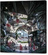 Kaleidoscopic Tokyo Canvas Print
