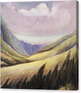 Kalihi Valley Art Canvas Print
