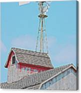 Kalona Barn Canvas Print