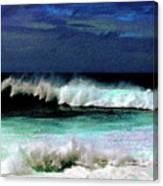 Kaluakoi Surf Canvas Print