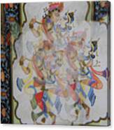 Kama Sutra Thrice Canvas Print