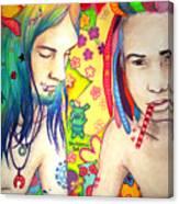 Kamil And Louis Canvas Print