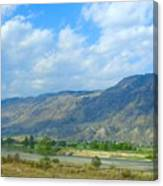 Kamloops  Canvas Print