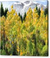 Kananaskis Autumn Morn Canvas Print