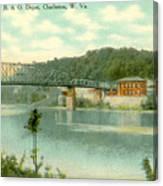 Kanawha Bridge Canvas Print