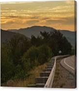Kancamagus Highway - New Hampshire Usa Canvas Print