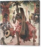 Kanda-kanda Canvas Print