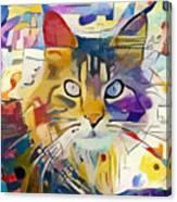 Kandinsky Cat Canvas Print
