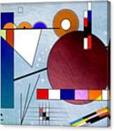 Kandinsky II Canvas Print