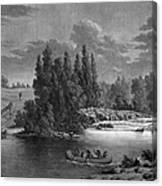 Kane: White Mud Portage Canvas Print