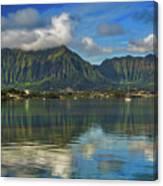 Kaneohe Bay Oahu Hawaii Canvas Print