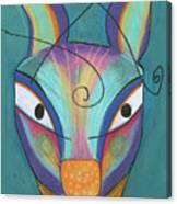 Kanga Canvas Print